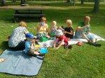 Piknik na łonie natury